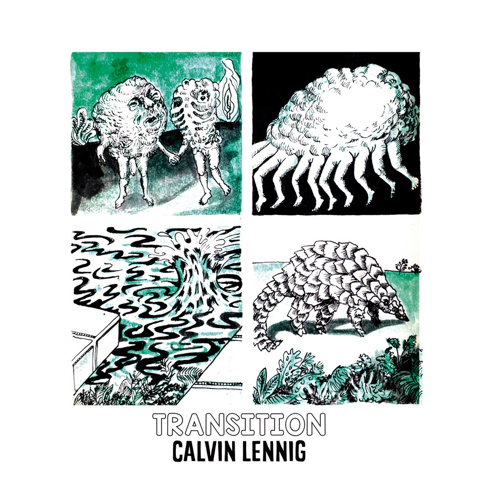 Calvin Lennig - TRANSITION Album Cover